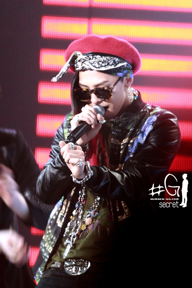 G-Dragon Kpop Star Rehearsal Photo