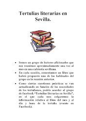 Tertulias literarias en Sevilla