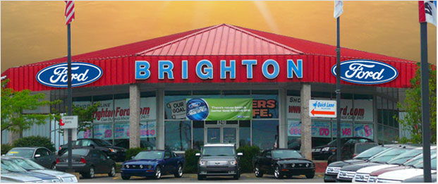 Brighton Ford Serves Gland Blanc, Michigan with New and Used Cars