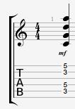 Quintal Harmony Guitar Chord