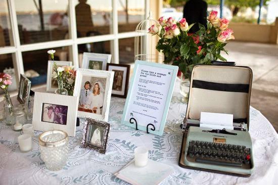 boda vintage es la decoracin del mobiliario como mquinas de escribir bicicletas antiguas porcelanas antiguas espejos