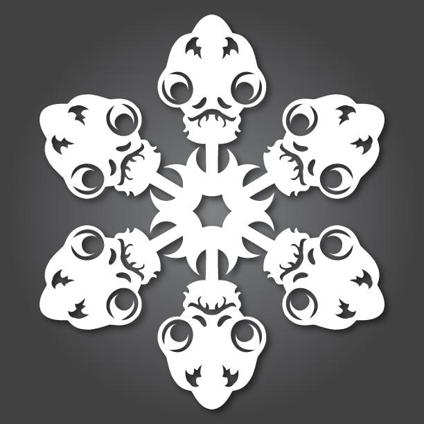 Copos de Nieve de Star Wars