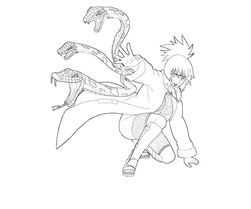printable-naruto-anko-mitarashi-skill-coloring-pages