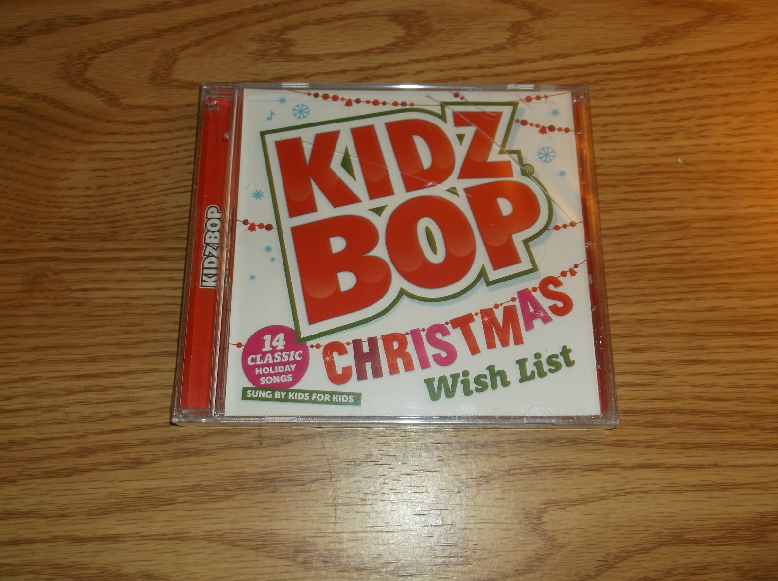Missys Product Reviews : Kidz Bop Christmas Wish List Cd & Toothtunes