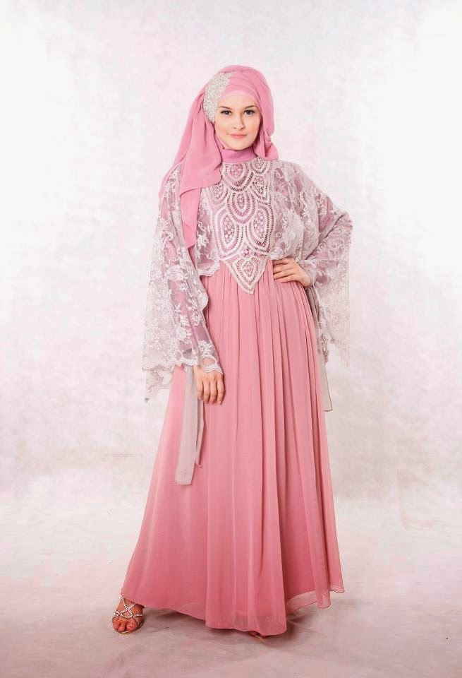 Model Gaun Pesta Dari Sifon Model Gaun Pesta Muslim
