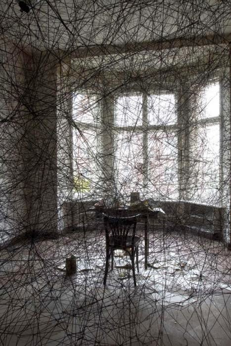 artistas, Chiharu Shiota