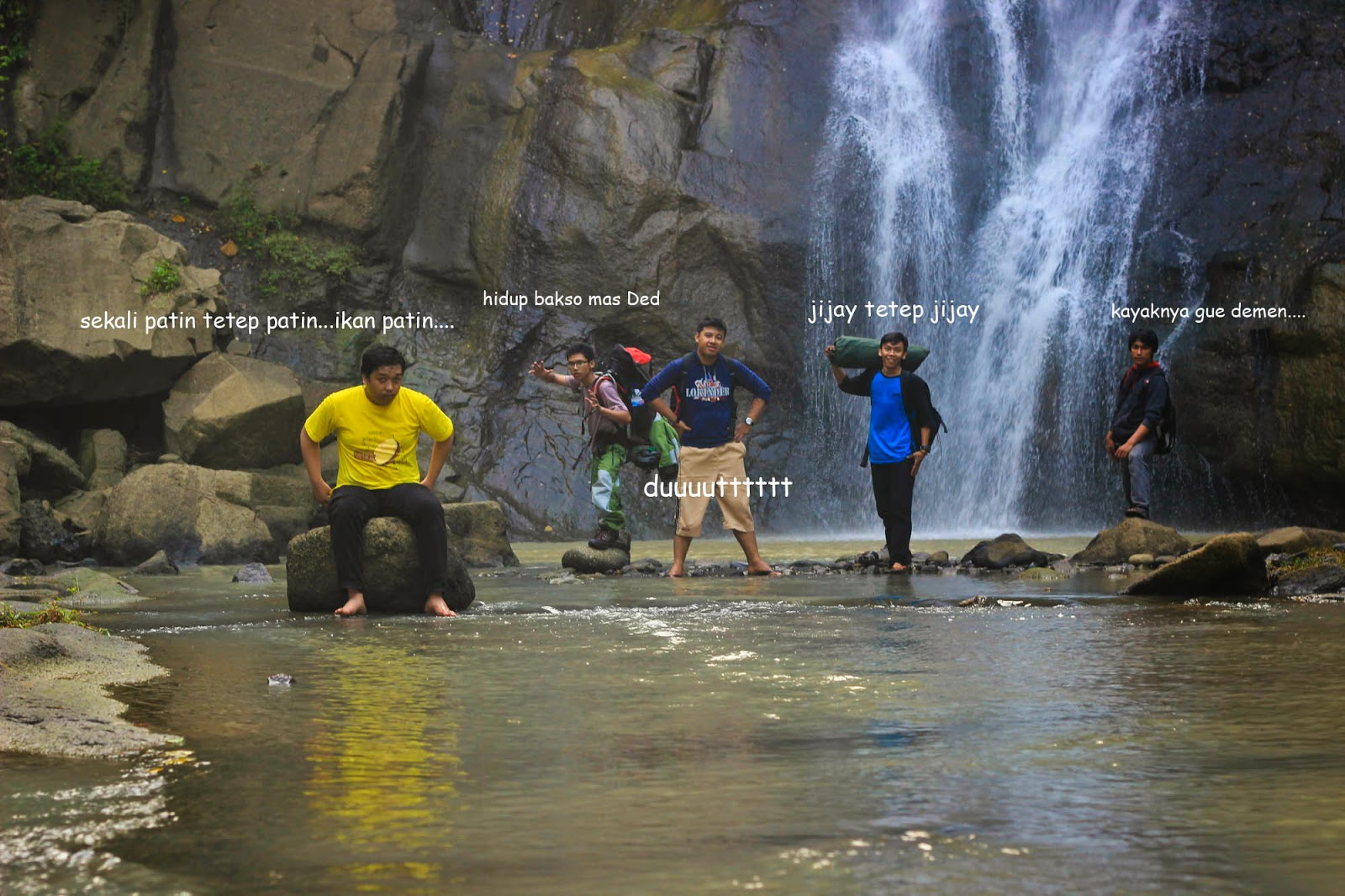 Fresh and Fun Air terjun Gunung kidul