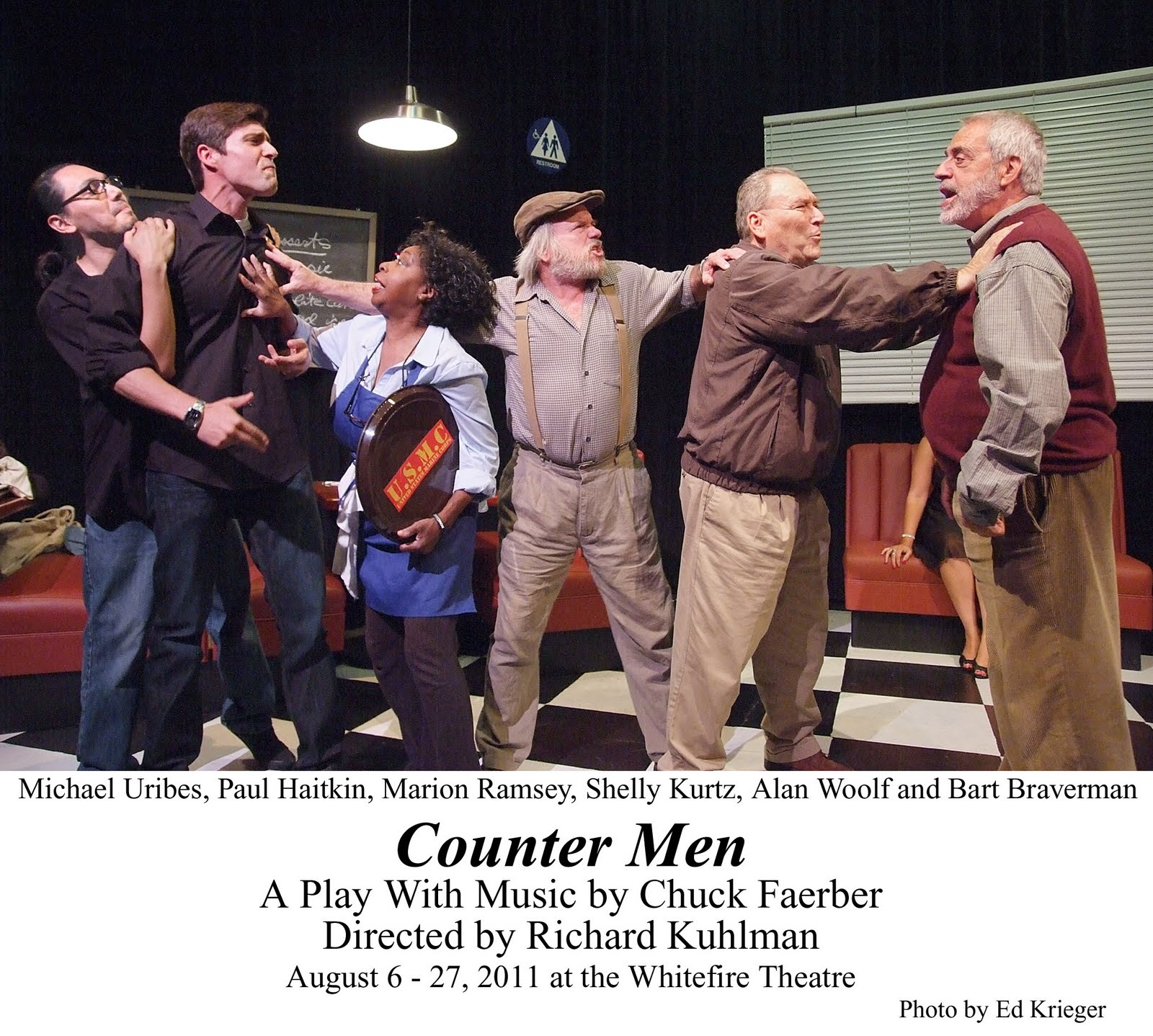 review counter men grigware reviews chuck faerber s world premiere counter men now onstage at the whitefire theatre is peculiarly intriguing a 14 character cast and just about as many