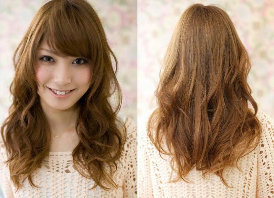 Dauerwelle langes dunnes haar