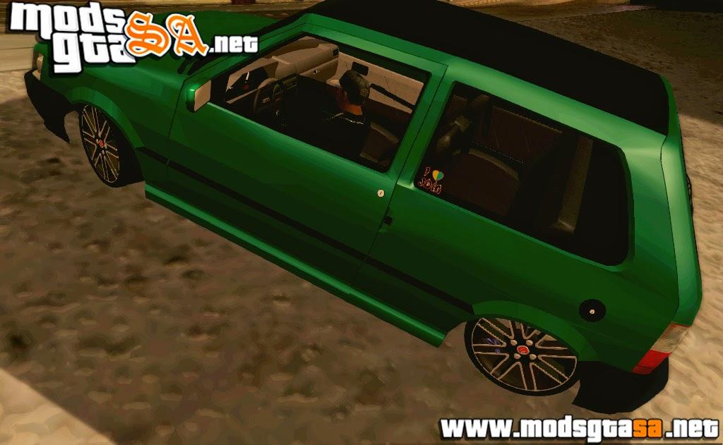SA - Fiat Uno Mille Fire FIXA + Som