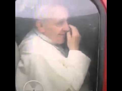 Pope Francis Eats His Own Boogers [VIDEO]