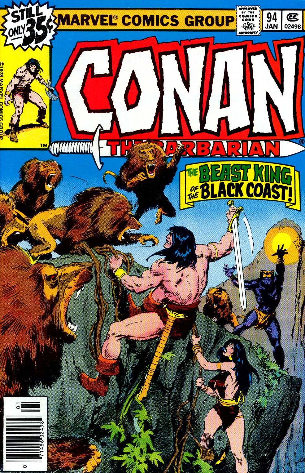 Conan the Barbarian (1970) Issue #94 #106 - English 1