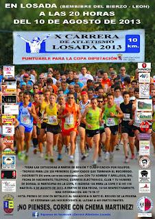 carrera popular de losada www.mediamaratonleon.com