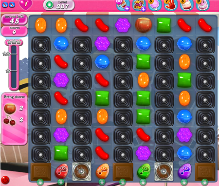 Candy Crush Saga 387