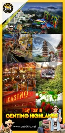 TOUR PACKAGE : GENTING HIGHLANDS