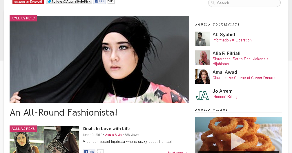 Featured in Aquila-Style.com | THE BEST HIJAB TUTORIAL