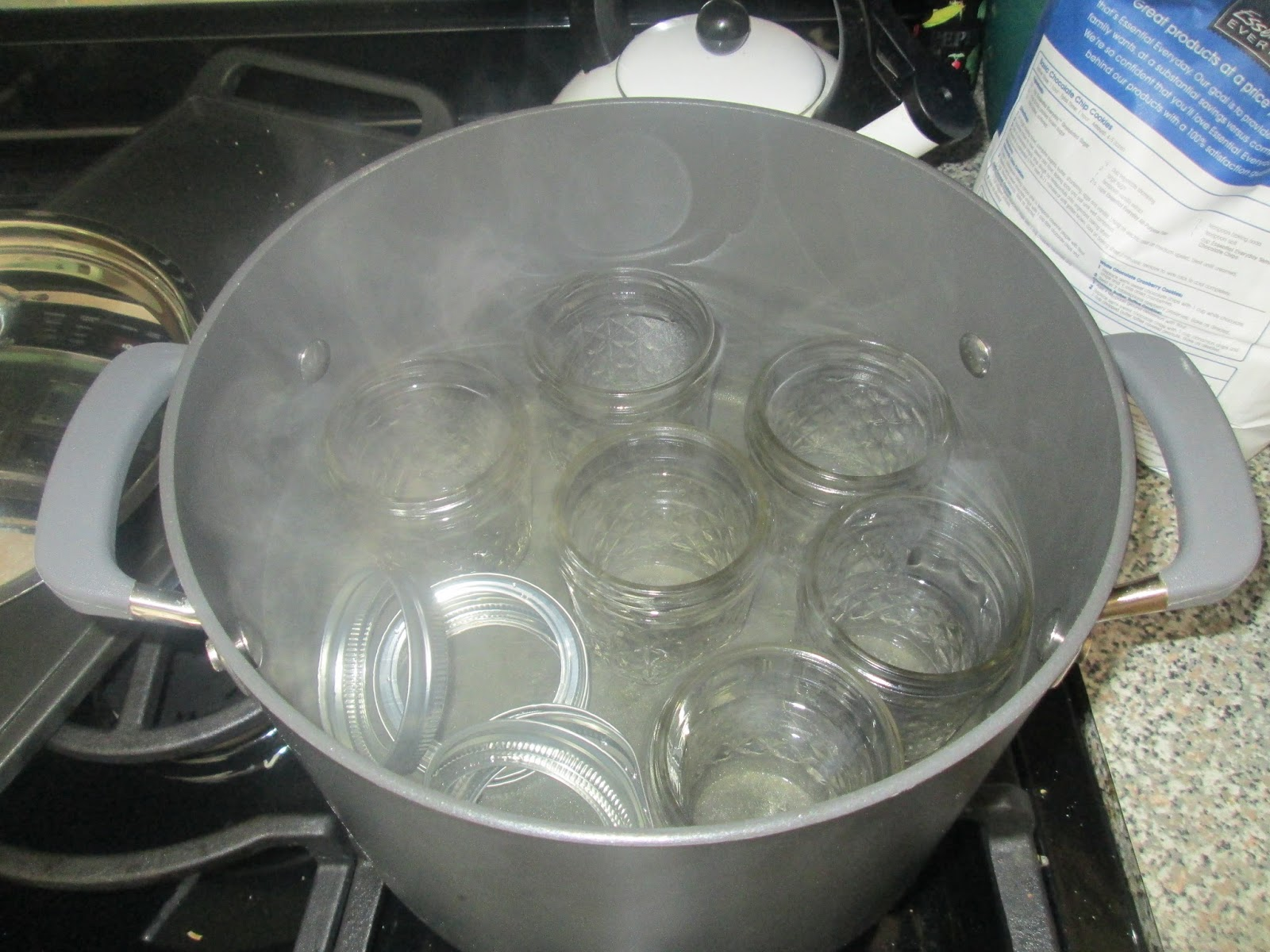 Sandy 39 s motherhood blog it must be jelly cause jam don t for How long to sterilize canning jars