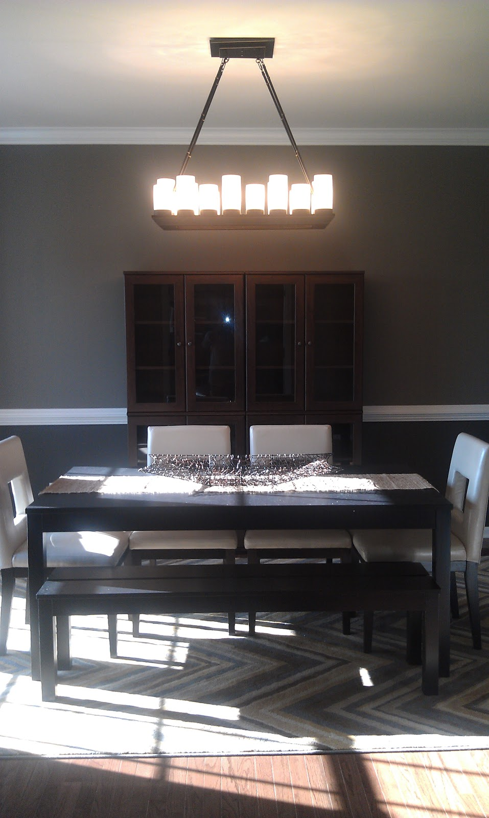 Building our james joyce with ryan homes dining room
