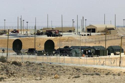 Di gurun Negev untuk mengawasi Iran