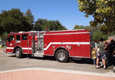 Modern Fire Engine, Paso Robles, © B. Radisavljevic