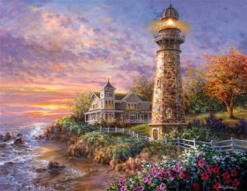 Nicky boehme american romantic painter tutt 39 art for Beautiful painting images