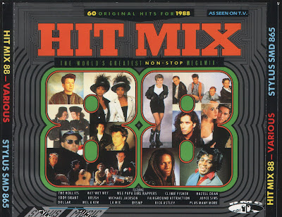 HIT MIX \'88 (2CD Set) x60 original artists non-stop mix (Album) 1988 Hi-NRG Eurobeat House Dance Classic 80\'s