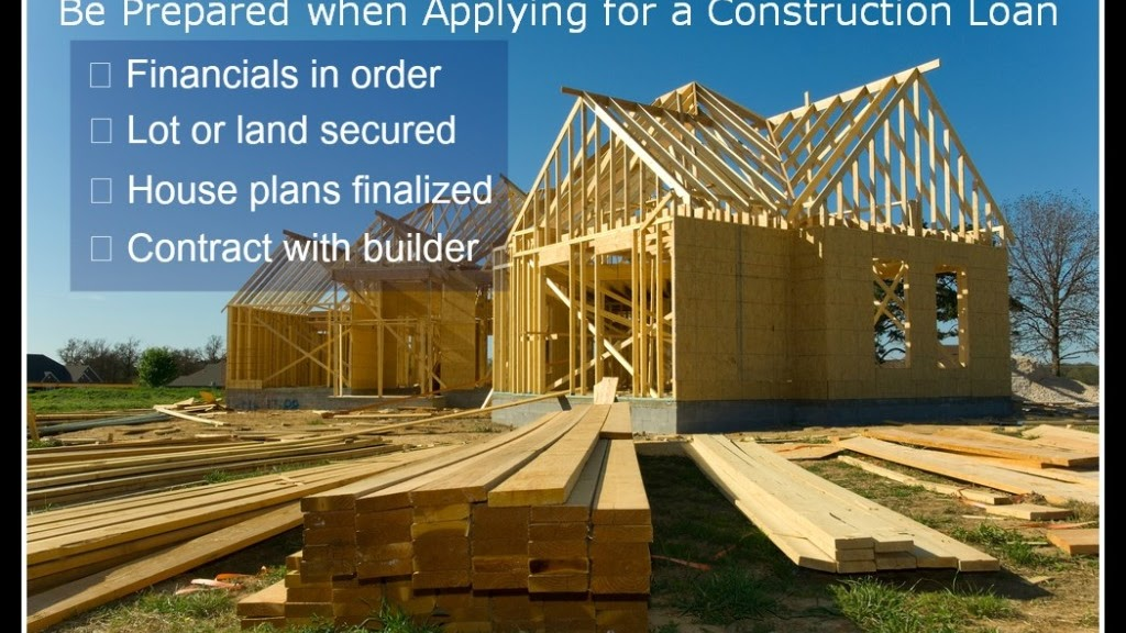 Construction Loan - Loans For Building A Home