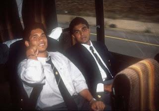 Sanjay Manjrekar with- Sachin