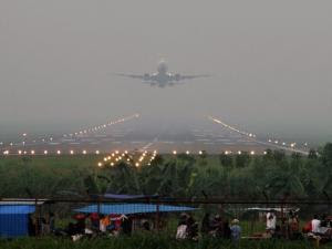 Penerbangan haji dari Bandara Syamsudin Noor Banjarmasin