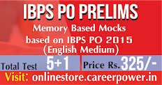 IBPS MEMORY BASED MOCK PAPERS