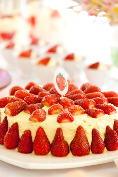 Strawberry Buttercream Birthday Cake Recipes — Dishmaps