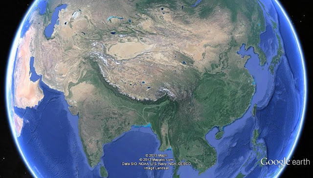 East Asia | Google earth