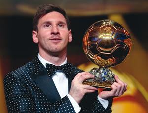 Fifa Player Of Year Its Messi Again