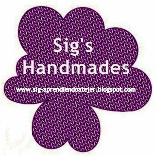 Sig's Handmades  - Aprendiendo a Tejer -