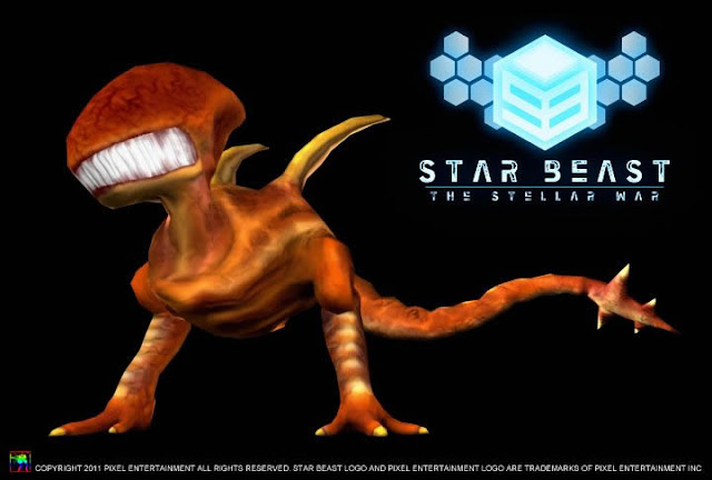 Concept art for Starbeast, a Wii U exclusive video game