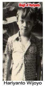 Foto hariyanto wijoyo semasa kecil