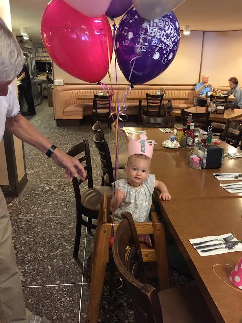 Pink Baby Girl Birthday Crown
