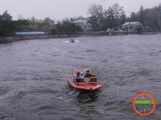 Naik Boat di Telaga Sarangan Magetan