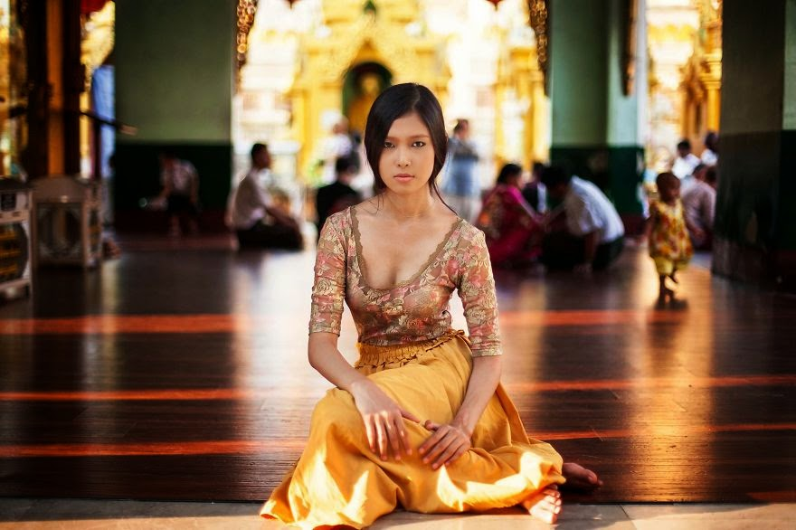 Yangon, Myanmar - I Photographed Women From 37 Countries To Show That Beauty Is Everywhere