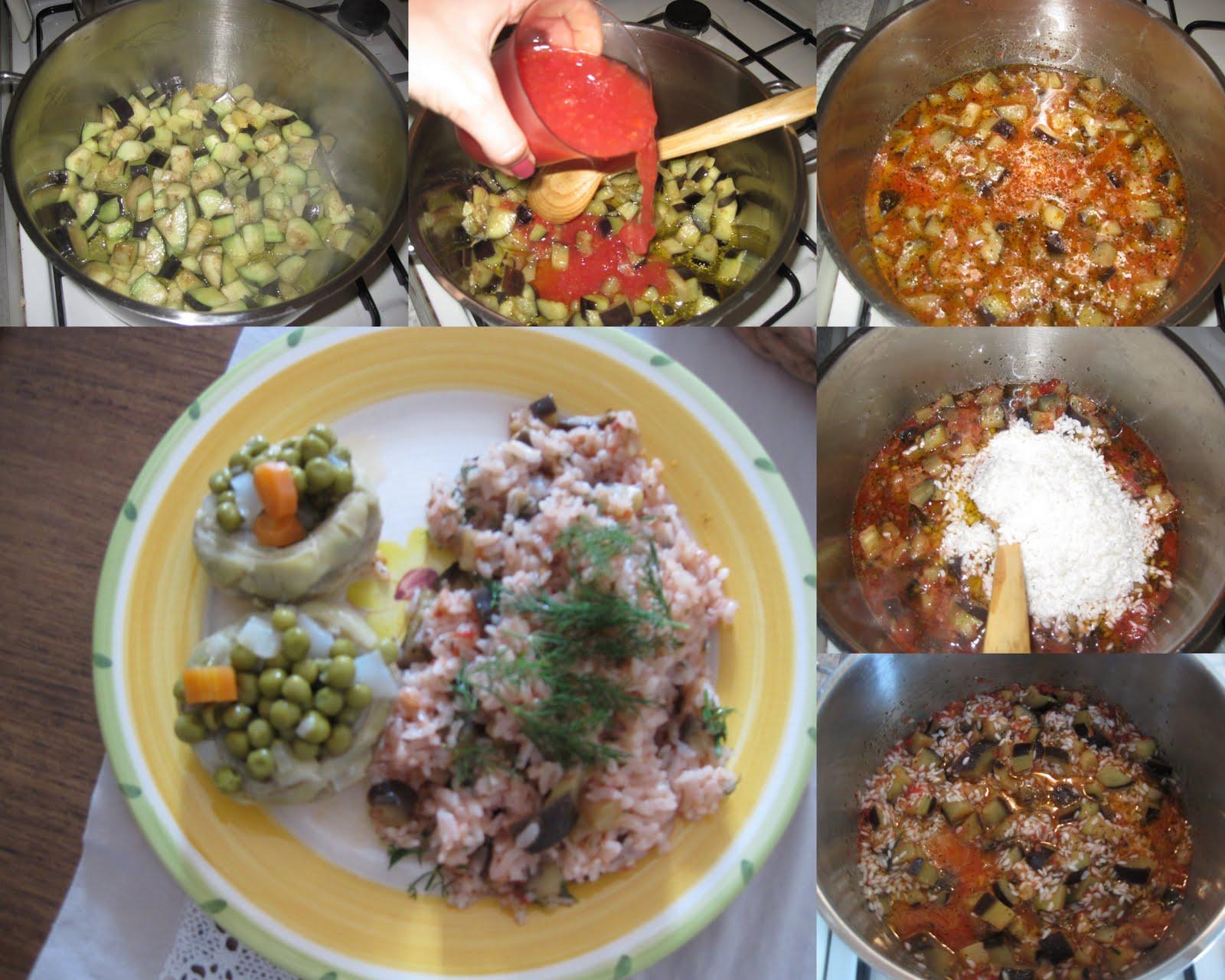 Patlıcanlı pilav tarifi(resimli anlatım)