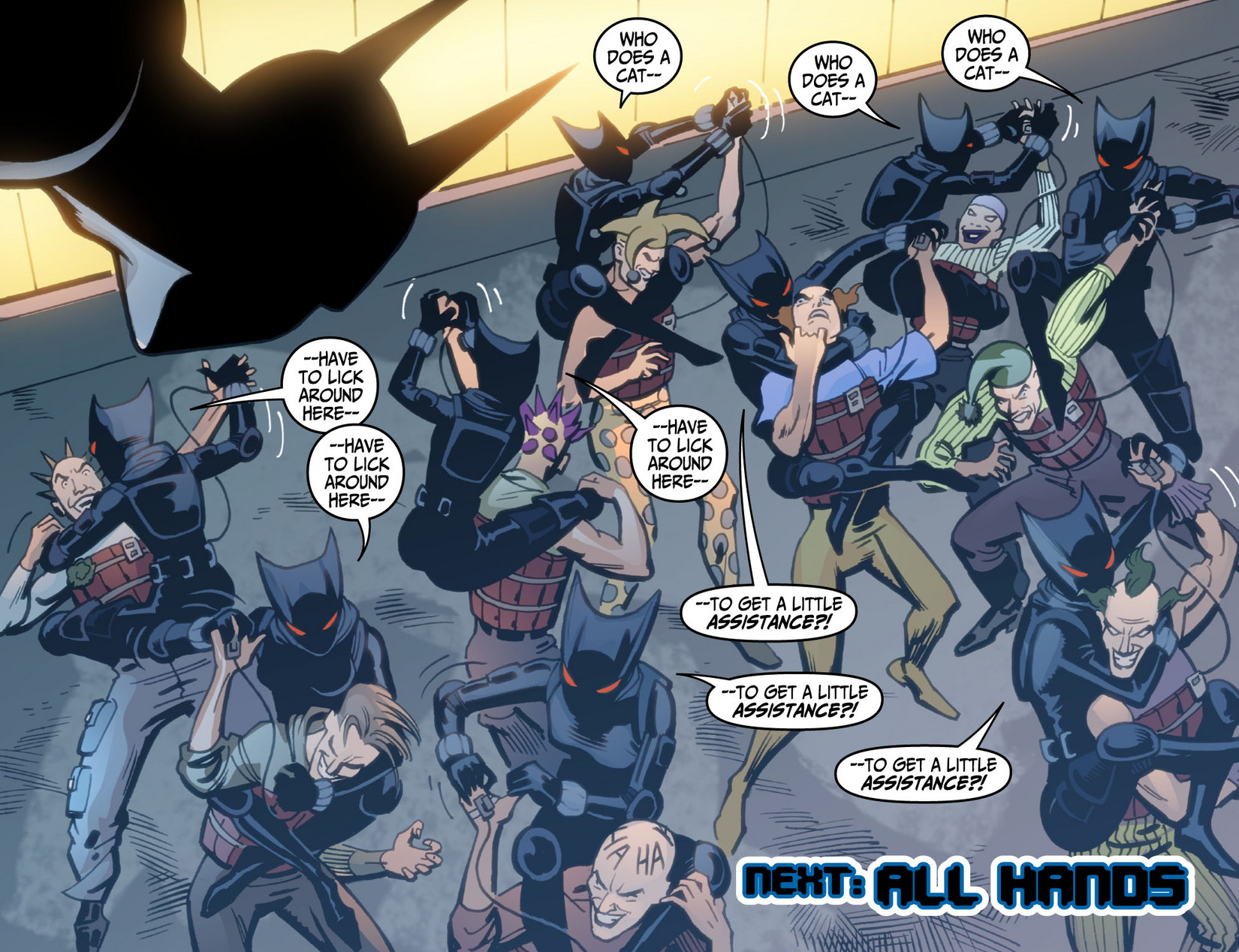 Batman Beyond (2012) Issue #12 #12 - English 22
