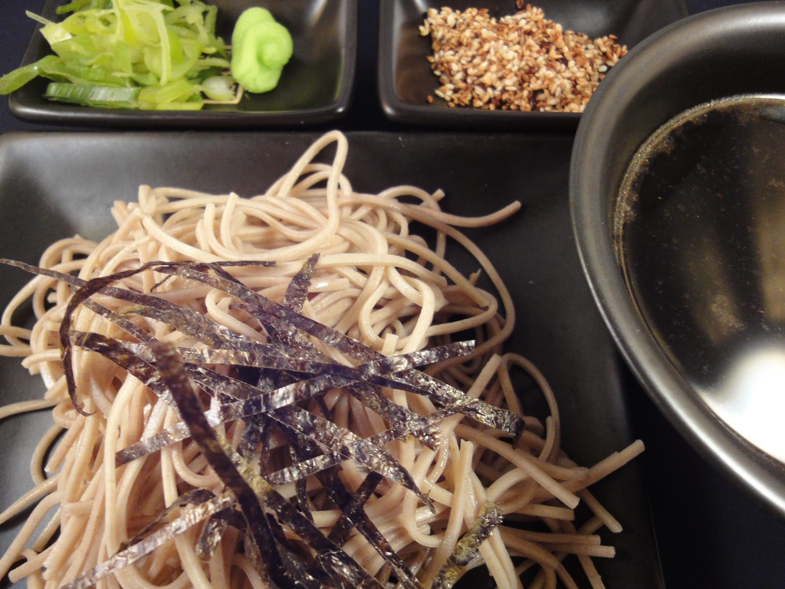 ... : Noodle recipe: soba noodles (cold), Japanese style recipe