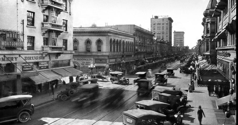The San Jose Blog Historic Photo Downtown San Jose At