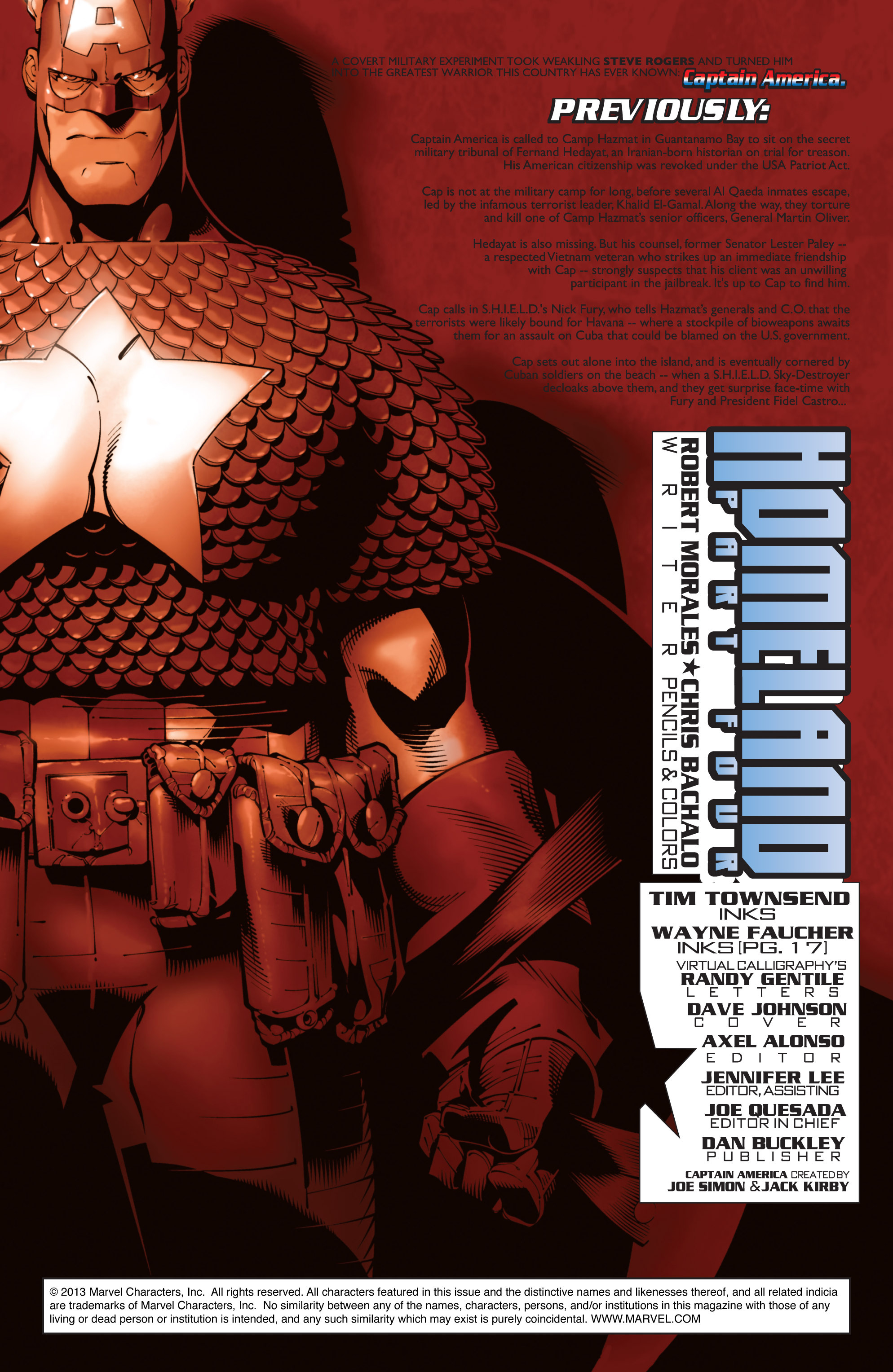 Captain America (2002) Issue #24 #25 - English 2