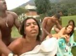Brasileiras na orgia