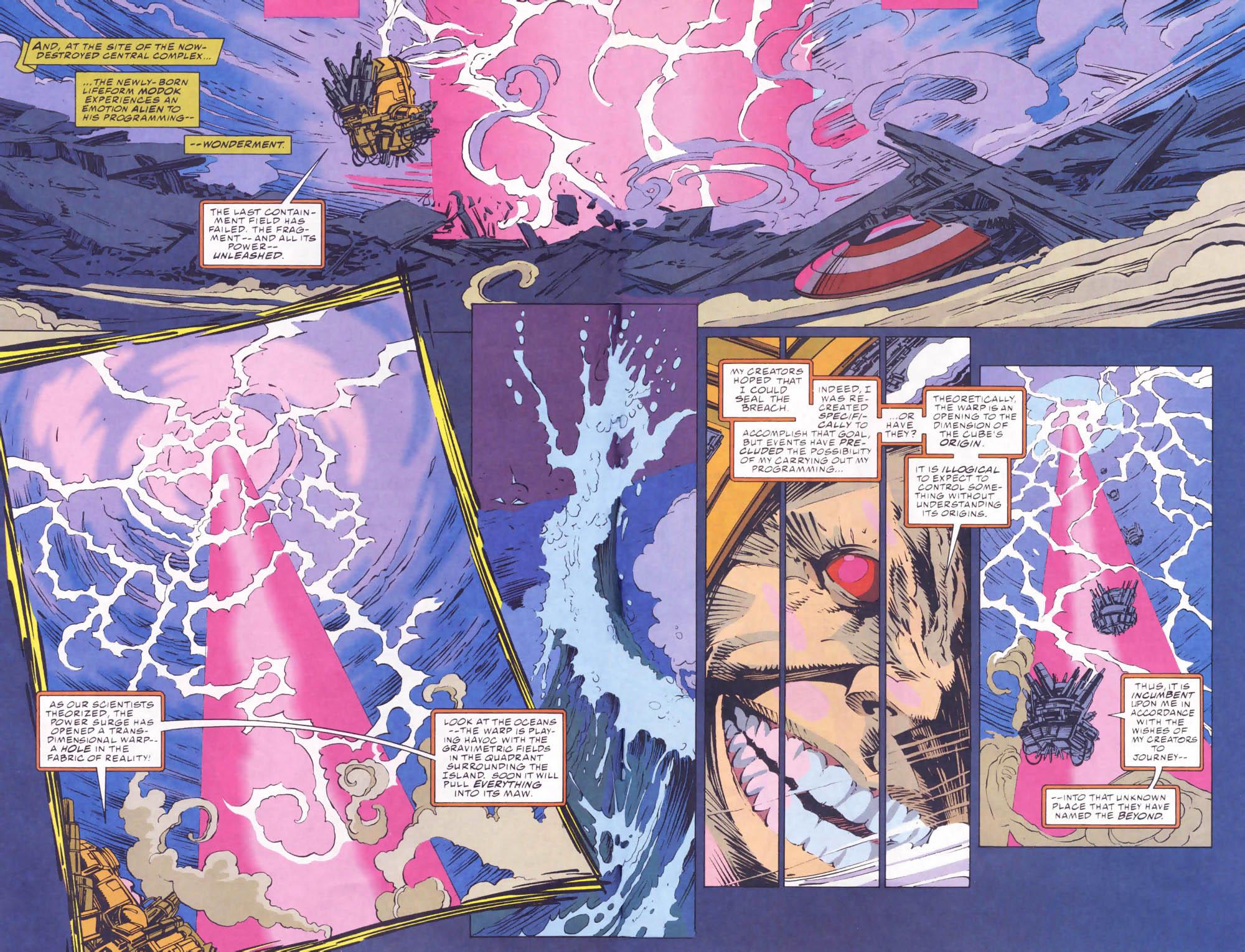 Captain America (1968) Issue #441b #395 - English 6