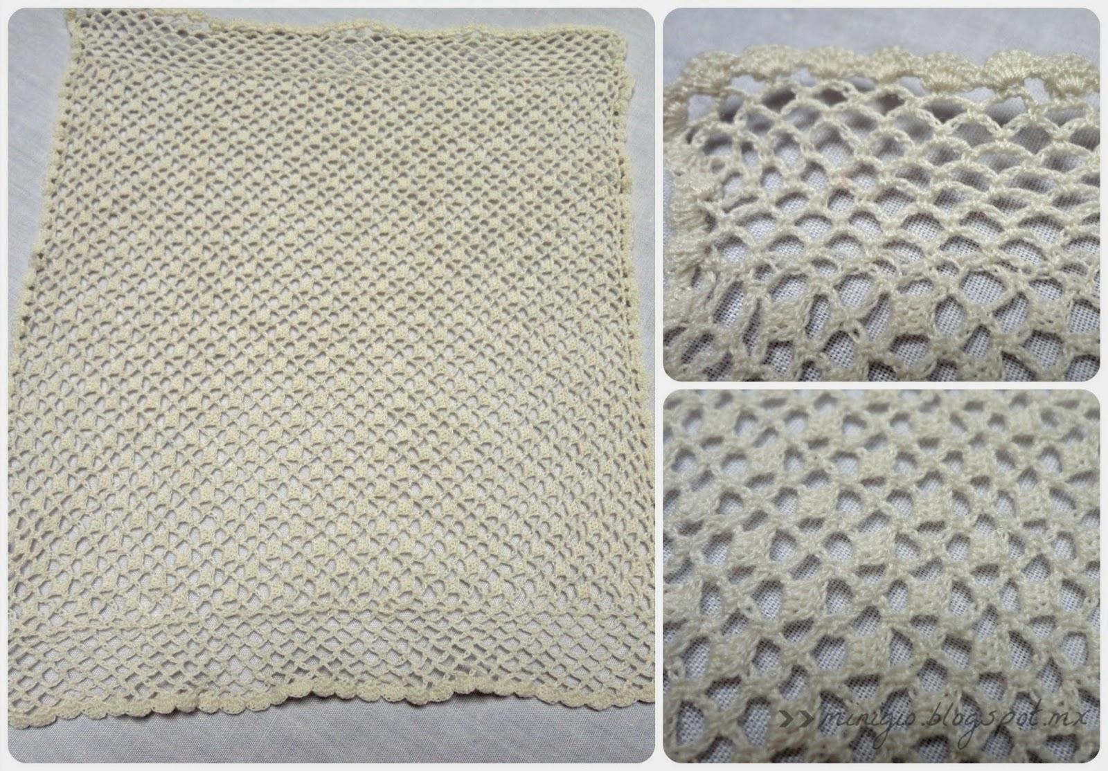 crochet bedspread dollhouse