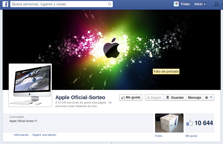 Apple Oficial-Sorteo