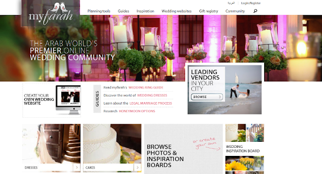 leading online wedding resource in the Middle East