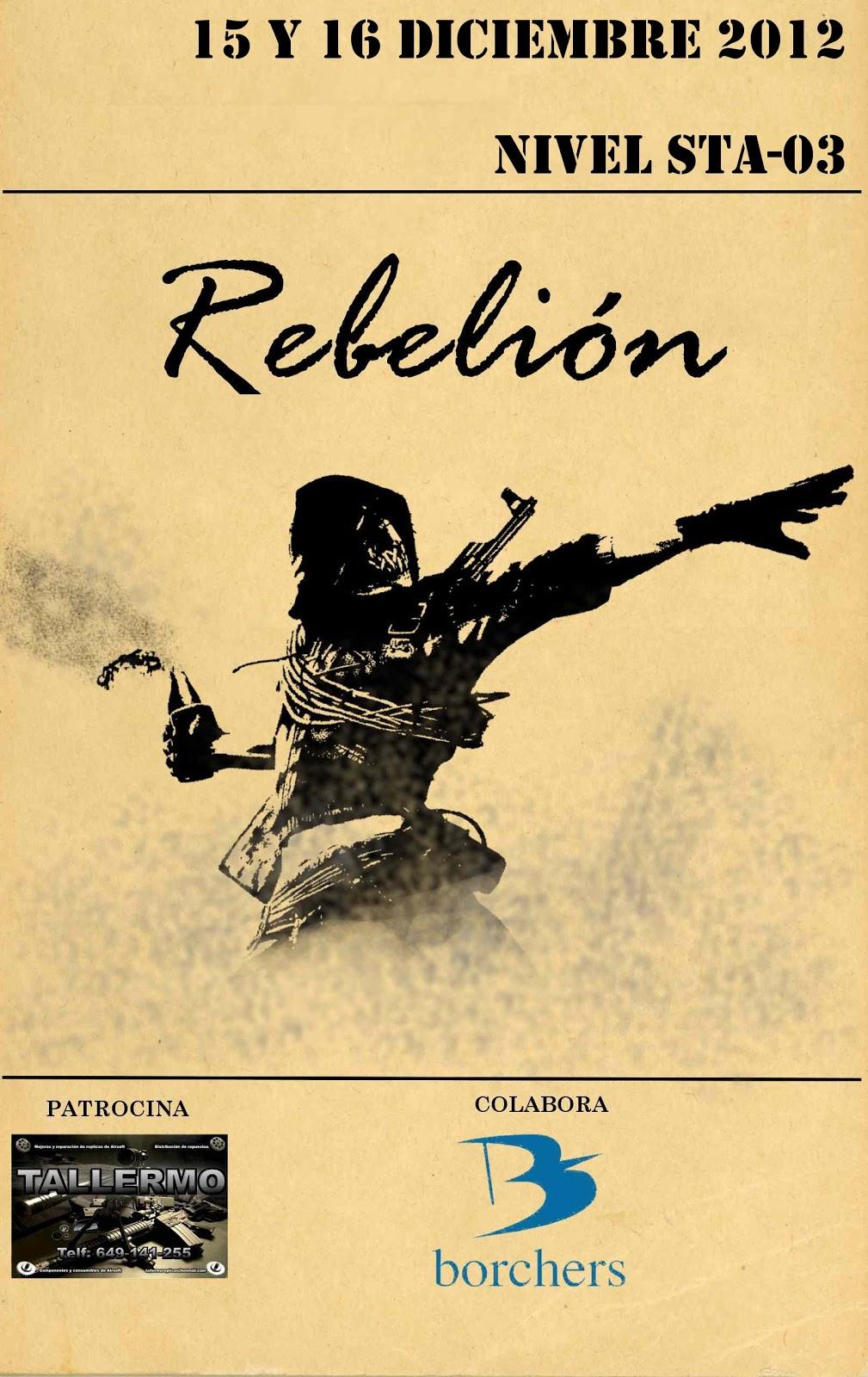 Re: REBELIÓN...15/16 DICIEMBRE 2012 Rebelion